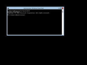Configuring Windows Server 2012 Core: PowerShell