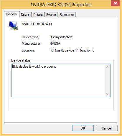NVIDIA driver fixed