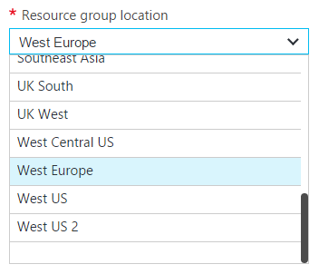 Available VM sizes and Images in Azure per location - Floris van der